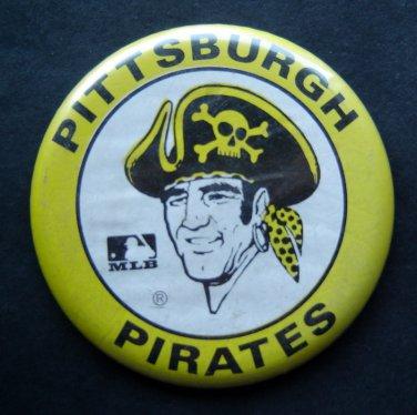 """Pittsburgh Pirates Baseball Pin Large 3"""" Diameter"""