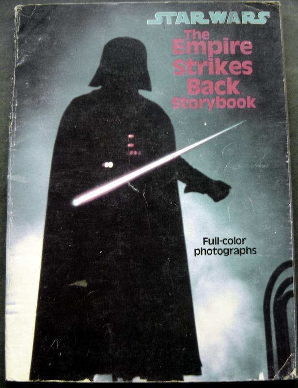 Star Wars Empire Strikes Back Storybook 1980 Softcover Photos Random House