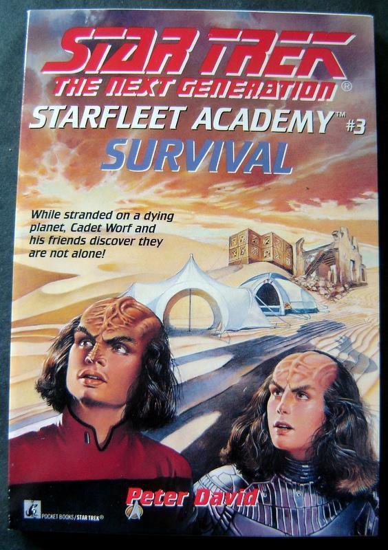 Star Trek Next Generation Star Fleet Academy #3 Survival Book 1993
