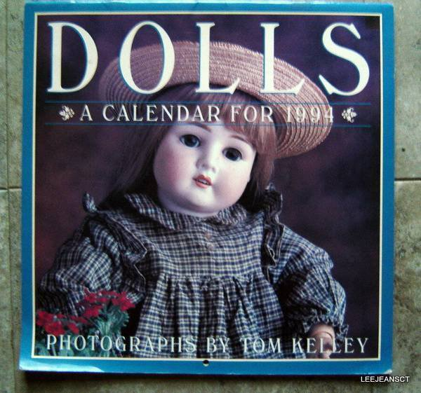 Dolls Calendar 1994 Photographs by Tom Kelley Workman Pub