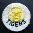 """Detroit Tigers Baseball 2"""" Round White Patch"""