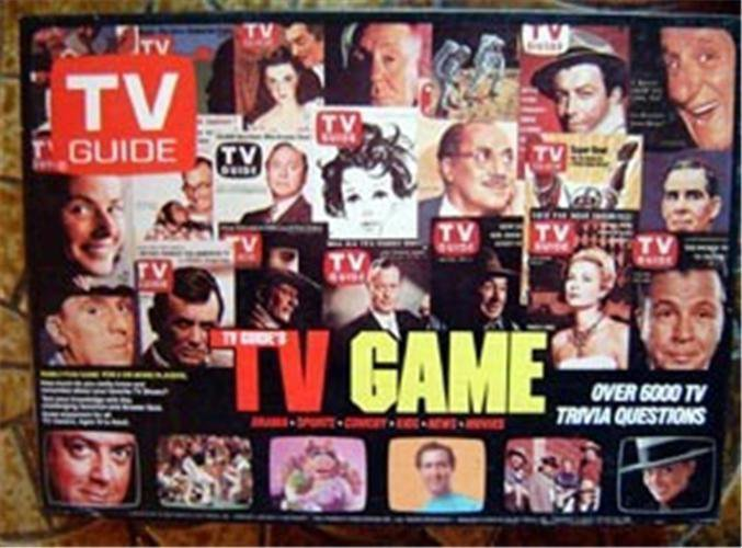 TV Guide Board Game Over 6000 Trivia TV Stars Princess Diana Booklets 1984