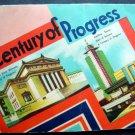 1933-34 Chicago World's Fair Century of Progress Needles Folder Incomplete