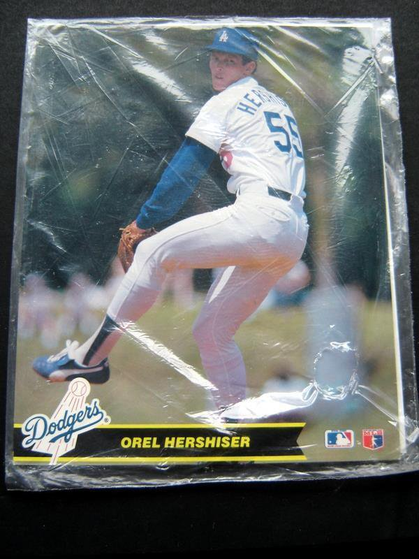 Los Angeles Dodgers 1989 Superstars Set of 5 Photos Hershiser Murray Gibson