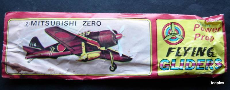 Flying Gliders Mitsubishi Zero in Package Fly with Power Prop
