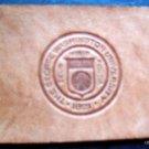 Vintage Cigarette Tobacco Leather George Washington University