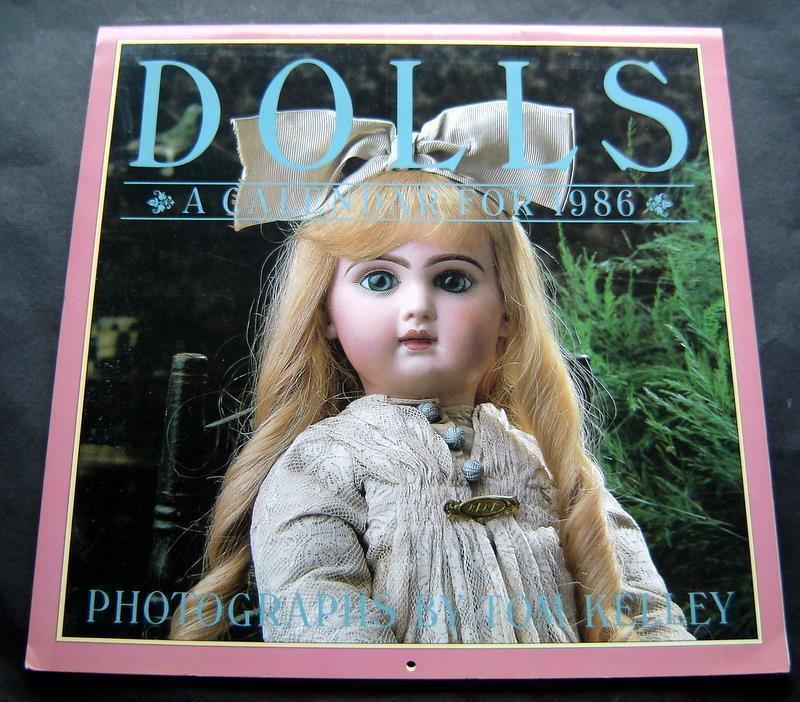 Dolls Calendar 1986 Photographs by Tom Kelley Workman Pub
