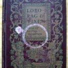 Vintage Book Lobo, Rag & Vixon by Ernest Seton Thompson 1902 Edition