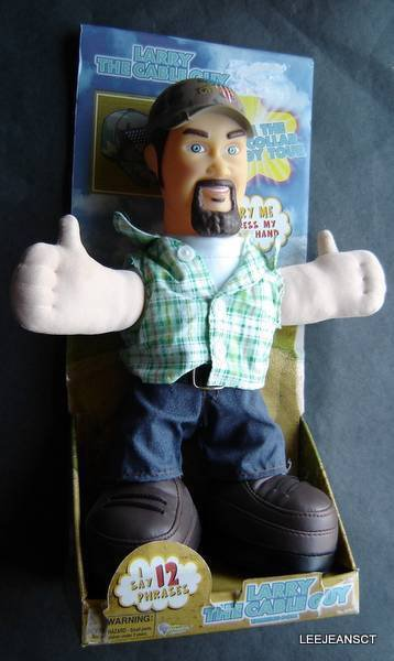 """Larry the Cable Guy Figure in Box 12"""" Tall 2005"""