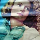 """1930s Actress Pin Up Poster Greta Garbo in """"The Painted Veil"""" 9"""" x 13"""""""