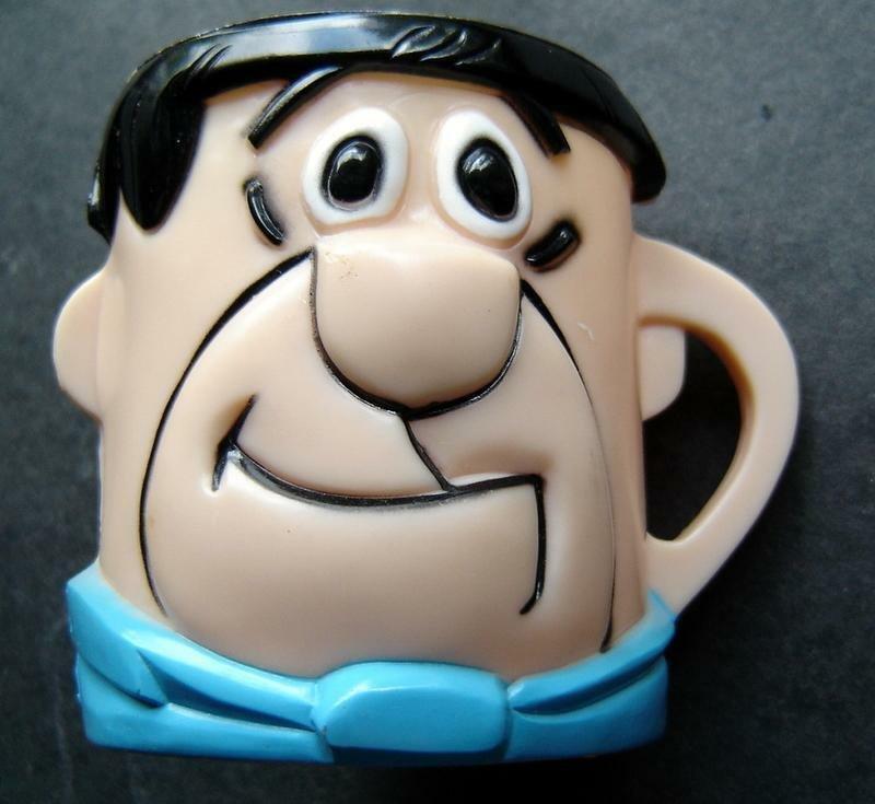 Fred Flintstone Yabba Dabba Doo Vitamins Advertising Hard