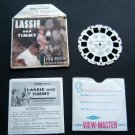 """Lassie and Timmy View Master Reel """"The Foolish Hunter"""" with Booklet B 4743"""