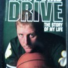 DRIVE The Story of My Life by LARRY BIRD Celtics Basketball Paperback Book 1989