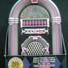 1950s Rock & Roll JUKEBOX Plays 3 Songs Musical Illuminated Centerpiece MIB