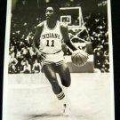 "ISIAH THOMAS Indiana Univ Basketball B & W PHOTO 7"" x 9"" Glossy NBC TV Promo '80"
