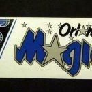 "Orlando MAGIC Basketball Bumper Sticker 11 1/2"" x 3"" Wincraft Made in USA"
