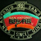 "San Antonio SPURS Basketball NBA Cloth Oval PATCH 5"""