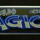 "Orlando MAGIC Basketball Bumper Sticker 11"" x 3"" Tag Express Made in USA"