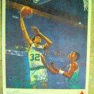 "1988-1989 CITGO Gas Basketball Advertising POSTER Kevin McHALE CELTICS 10"" x 12"""