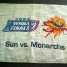 2005 WNBA Finals Sun vs Monarchs Golf Bowling Sports Cotton Hand TOWEL
