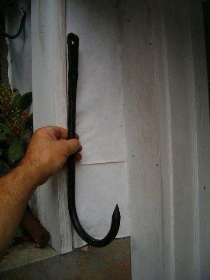 Stationary hook