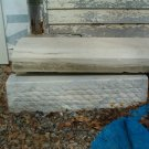 ANTIQUE WHITE MARBLE WALL FASCIA WITH CAP