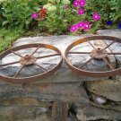 A Set of Iron wheels
