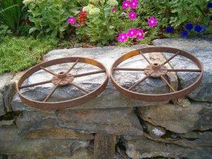 A Set of Iron wheels