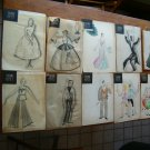 Collection of Art Work From Constance Ripley (Costume Designer)