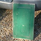 Antique Green Raised Door Panel