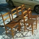 Maple Ladder Back style Chairs