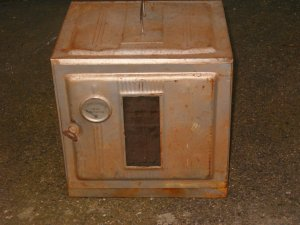 Tin Oven for Cooking on a Wood or Coal Stove