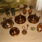 Brass Ceiling Fixture lot