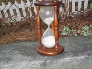 Vintage Sands Through The Hour Glass Timer