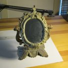 Antique Cast Iron Boudoir Mirror