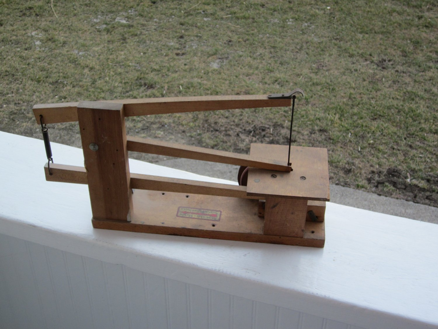 Vintage Coping Saw With Pulley