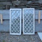 Vintage Wood Doors  (Diamond Pattern)