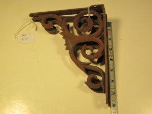 vintage Cast Iron Brackets  I 6