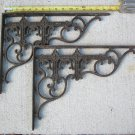 Antique Cast Iron Brackets  # 21