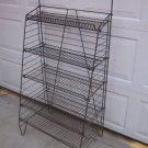 Vintage Wire Metal Display Rack