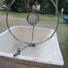 Vintage Circle Frame Bar & Shower Head