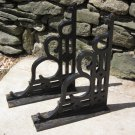 Vintage Steel Building Brackets
