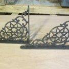 Old Cast Iron Brackets in Star Design