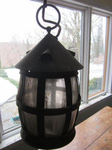 Vintage Copper Arts & Crafts Lantern