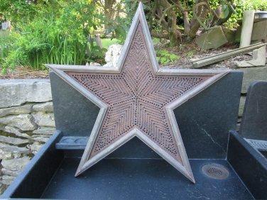 Vintage Folk Art Star design
