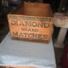 Vintage Diamond Matchbook Advertising Box