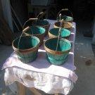 7 Vintage Peach/Fruit Baskets