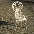 Antique Cast Iron Garden Chair/Side Chair