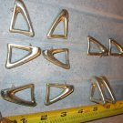 10 Vintage Cast Brass Door/Cabinet Pulls