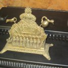 Antique turn Of The Century Menorah Oil Lamp